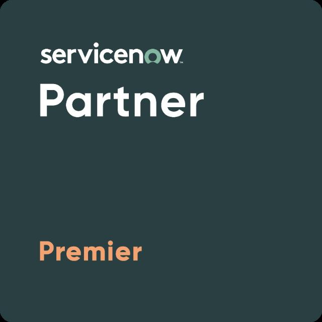 ServiceNow partner premier